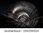 Deep Metro Tunnel Under...