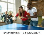 Young People Playing Table...