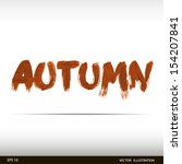 autumn | Shutterstock .eps vector #154207841
