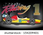 team 1 racing | Shutterstock .eps vector #154209401