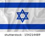 israel waving flag | Shutterstock . vector #154214489