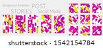 creative backgrounds for social ... | Shutterstock .eps vector #1542154784