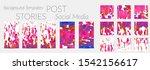 creative backgrounds for social ... | Shutterstock .eps vector #1542156617