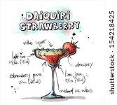 hand drawn illustration of... | Shutterstock .eps vector #154218425