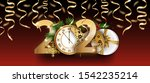 happy new year 2020. year of... | Shutterstock .eps vector #1542235214
