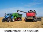Harvest Machine Loading Seeds...