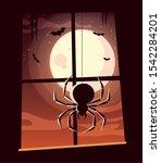 spider design  halloween... | Shutterstock .eps vector #1542284201