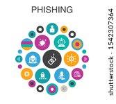 phishing infographic circle...