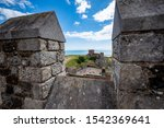 Looking Over Battlements At...