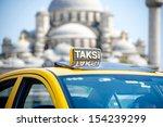 turkey taxi in istanbul | Shutterstock . vector #154239299