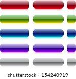 blank web bar buttons. vector.   Shutterstock .eps vector #154240919