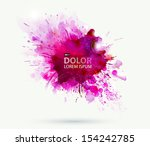 abstract artistic element... | Shutterstock .eps vector #154242785