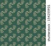 line thai art pattern vector... | Shutterstock .eps vector #154255931