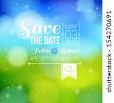 save the date for personal... | Shutterstock .eps vector #154270691
