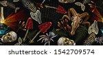 embroidery kerosene lamp  human ... | Shutterstock .eps vector #1542709574