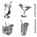 cocktail | Shutterstock .eps vector #154276169