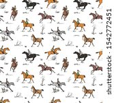 Equestrian Sport Fox Hunting...