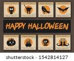 Happy Halloween Vector Template ...