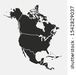 North America Map With Regions...