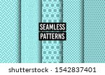 abstract seamless patterns.... | Shutterstock .eps vector #1542837401