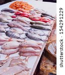 Fresh Fishes On The Market Of...