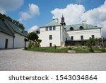 Karczowka monastery Kielce in summer day