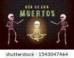 day of the dead or mexican dia... | Shutterstock .eps vector #1543047464