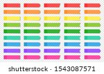 colored realistic sticky notes...   Shutterstock .eps vector #1543087571