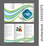 brochure design   Shutterstock .eps vector #154310375