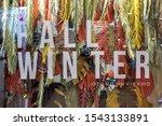 fall winter exhibitor during... | Shutterstock . vector #1543133891