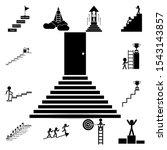 stair  success  target  flag...