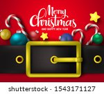 merry christmas greeting with... | Shutterstock .eps vector #1543171127