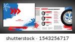 vector automotive brochure...   Shutterstock .eps vector #1543256717