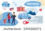 bright flyer is written winter... | Shutterstock .eps vector #1543306571