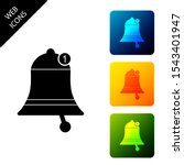 bell icon isolated. new...