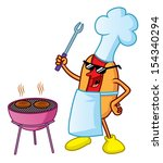 bbq party | Shutterstock . vector #154340294