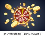 vector illustration spinning... | Shutterstock .eps vector #1543406057