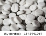 antidepressants pills closeup... | Shutterstock . vector #1543441064