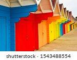 The Colourful Array Of Beach...