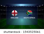 england vs south africa  rugby...   Shutterstock .eps vector #1543525061
