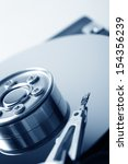 opened hard disk drive | Shutterstock . vector #154356239