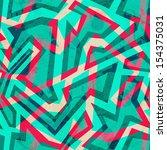 Green Mosaic Seamless Pattern...