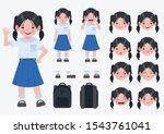asian primary school child ...   Shutterstock .eps vector #1543761041