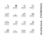 skin related icons  thin vector ...   Shutterstock .eps vector #1543804631