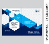 cover design for presentations... | Shutterstock .eps vector #1543818854