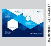 cover design for presentations... | Shutterstock .eps vector #1543818857