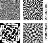 optical illusion vector  op... | Shutterstock .eps vector #1543828181