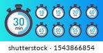 vector stopwatch icons set 10 ...   Shutterstock .eps vector #1543866854