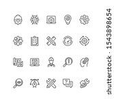 set of engineering icons in...   Shutterstock .eps vector #1543898654