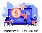 financial consultant... | Shutterstock .eps vector #1543902584
